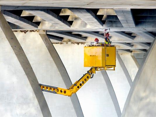 University Bridge Inspection 1