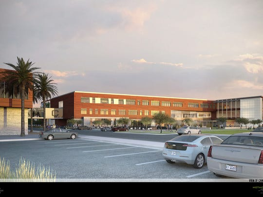 This computer rendering demonstrates what the Dixie Applied Technology College main campus building is expected to look like.