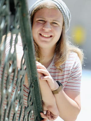 Blake Stumpf, a recent West Burlington High School graduate and class valedictorian  will be studying aerospace engineering in the fall at Iowa State University, is shown Thursday in downtown Burlington.