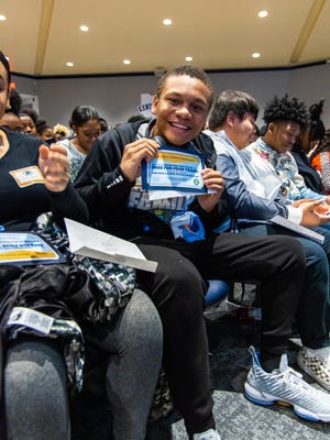 Jayden Shippe, who passed away Tuesday, was among students in the LeBron James Family Foundation's I Promise Network who learned in February that they were being offered scholarships to attend Kent State University.