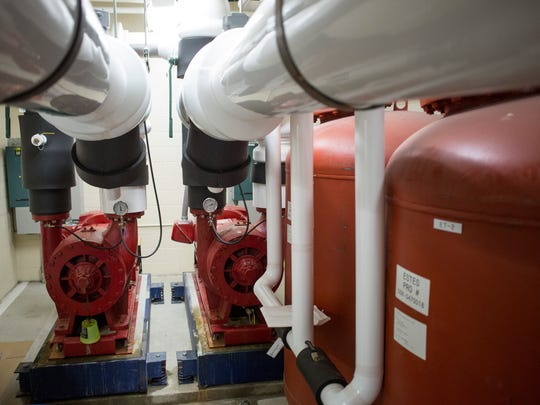 A geothermal heating system is in need of upgrades at Algonac Junior and Senior High School. Algonac Community Schools is considering a bond campaign to address facility and technology needs in the district.