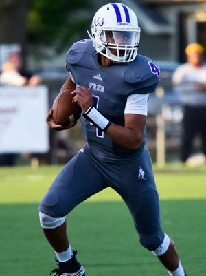 Hayden Lehmann rushed for one touchdown and tossed another as Fremont Ross topped Springfield in Week 1.