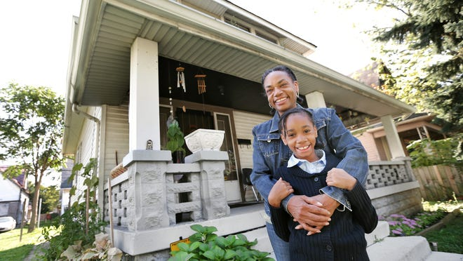 Lisa Hardy, along with her eight-year-old daughter Leah Jones, has lived rent-free for nine years in an Eastside house that was abandoned by its investor-owner. She just kept living there and no one ever claimed the house but the home has now been bought at a city surplus sale by a Singaporean investment company and Hardy fears she will have to move.