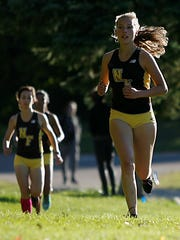 Exchange student Emily Issel was second for the Raiders and fifth overall.