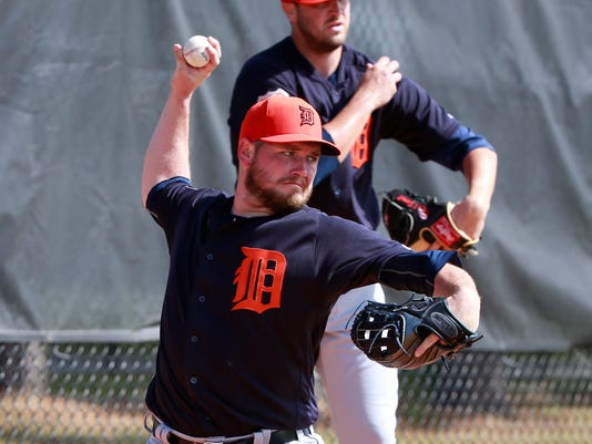 MLB: Detroit Tigers-Workouts