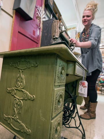 Molly York will expand her 'upcycled' furniture store