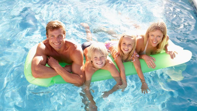 Most people remember enjoying childhood fun in the swimming pool, making it a good source of exercise for adults.