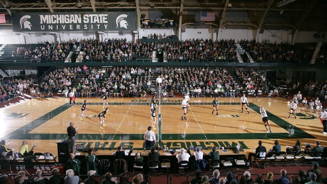 MSU volleyball begins NCAA tournament play tonight at home at Jenison Field House.
