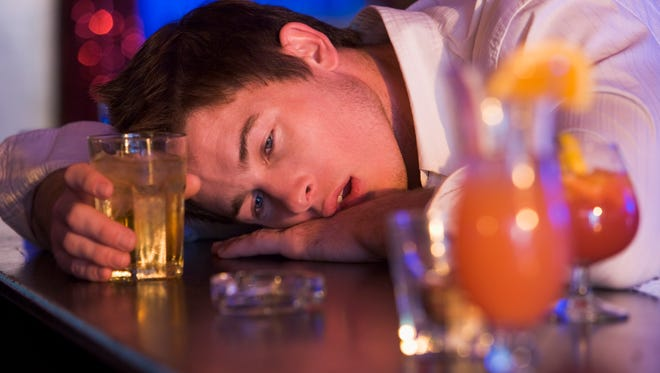 Too much alcohol can be fatal above a .4 blood alcohol level.