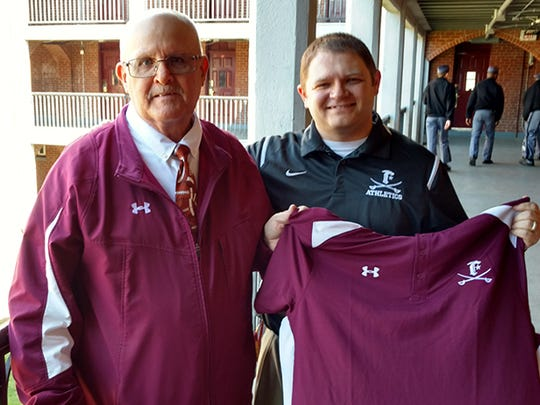 Tom Goforth (left) is in his first year as Fishburne's