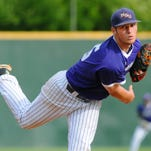 Northwestern State pitcher Adam Oller throws a pitch against Central Arkansas on Friday.