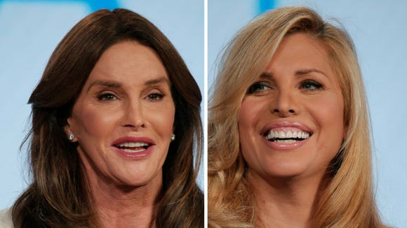 Caitlyn Jenner and Candis Cayne.