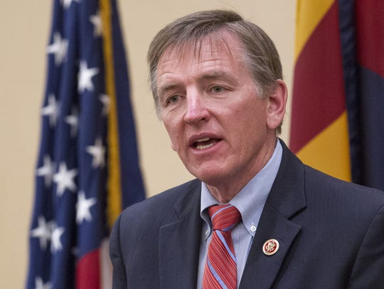 U.S. Rep. Paul Gosar.