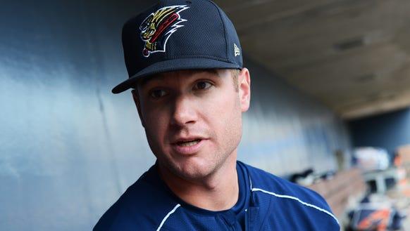 Tyler Webb, a pitcher for the Scranton/Wilkes-Barre