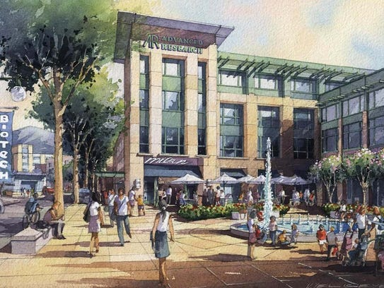 A rendering of the proposed Westchester BioScience