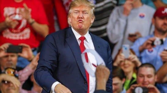 Republican US presidential candidate Donald Trump.