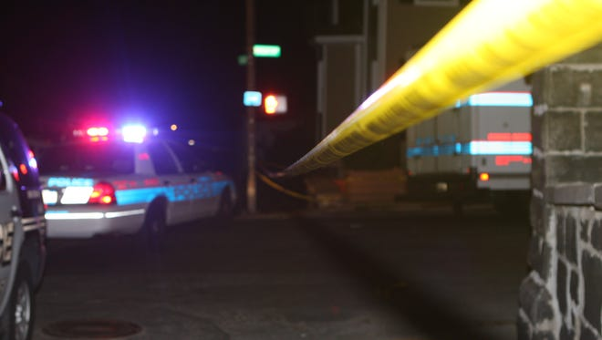 Yonkers police investigate after a fatal stabbing outside 160 Warburton Ave.