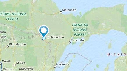 Iron Mountain, located in Michigan's Upper Peninsula