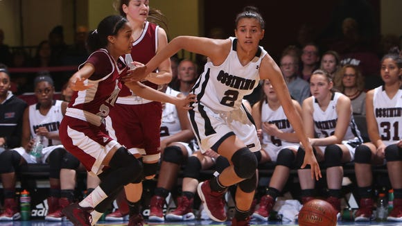 Ossining defeated Albertus Magnus 80-77 to win the