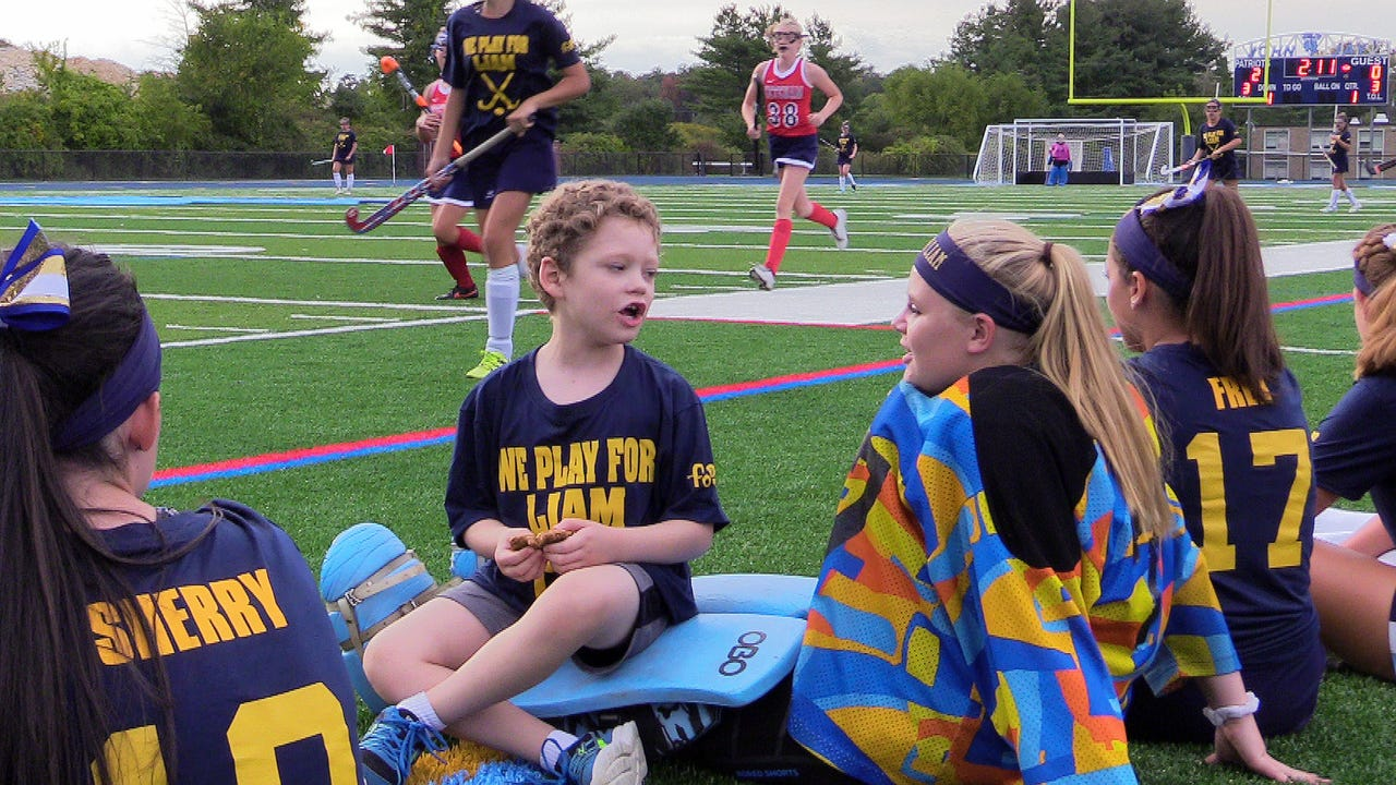 At an event held for the benefit of children fighting cancer and the Friends of Jaclyn Foundation, the John Jay field hockey team capped its day with a victory before its biggest fan: Liam Craane, a 6-year-old battling leukemia.