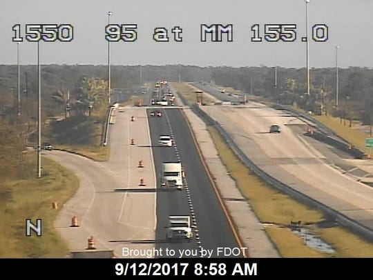 Turnpike in Indian River County Sept. 12, 2017