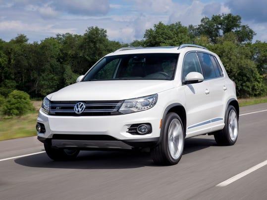 2014 VW Tiguan R-Line front