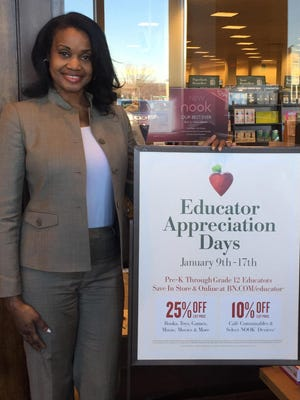 Barnes & Noble offers two professional development credits with presentation from author Dr. Felicia Nacee.