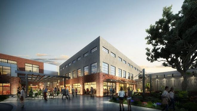 A rendering of The Millworks on Charlotte planned for the Madison Mill property at 42nd and Charlotte