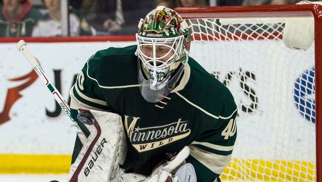 Minnesota Wild goalie Devan Dubnyk is up for the Vezina and Masterton trophies.