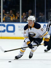 Buffalo Sabres center Jack Eichel scored 57 points last season in 61 games, missing the start of the year with a high-ankle sprain. He was No. 2 pick in 2015 NHL draft behind Connor McDavid, who captured three major awards, including MVP, after playing all 82 games and scoring 100 points, including 70 assists and getting his Edmonton team to the playoffs.