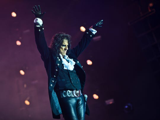 Alice Cooper has a June 7 date with the Fox Cities Performing Arts Center in downtown Appleton.