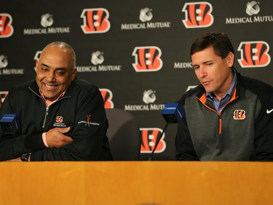 Cincinnati Bengals head coach Marvin Lewis, who was