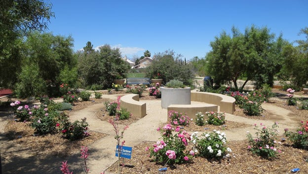 UNCE's Southern Area Master Gardener's Rose Garden received a certificate of achievement in the Small Garden Class at the national Pacific South West District's 2015 Annual Convention, Sunshine 'n Roses.