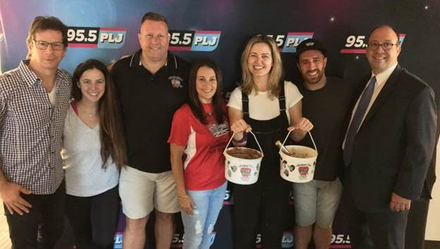 Children's Specialized Hospital is teaming up with 95.5 PLJ and Applegate Farm Ice Cream in Montclair, to bring two ice cream flavors chosen by listeners of Todd & Jayde In The Morning — Sea Salt Caramel Chocolate Chunk and S'mores Fluff-A-Nutter. Now through Labor Day, a donation of 95 cents will be made to Children's Specialized Hospital for every scoop of these two flavors sold.