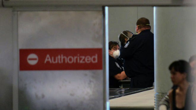 Thousands of Homeland Security employees in Florida could face unemployment if Congress does not agree funding for the agency.