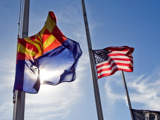 Yuma Helicopter Crash flags