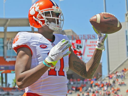 Clemson's Shadell Bell during the 2016 spring game
