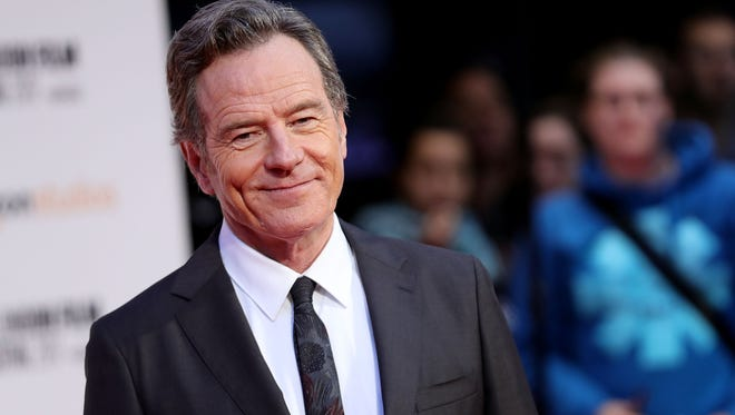 """Bryan Cranston attends the  international premiere of """"Last Flag Flying"""" during the 61st BFI London Film Festival on Oct. 8, 2017 in London."""