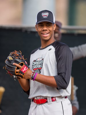 Hunter Greene was the No. 1 pick by the Reds in 2016.