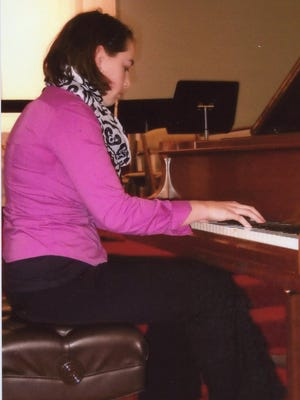 Kaitlin Ryckman, pianist, will be performing during the Mostly American Concert on Sunday.