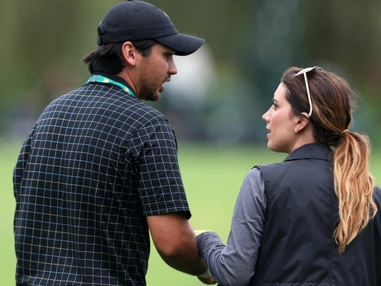 Jason Day and wife