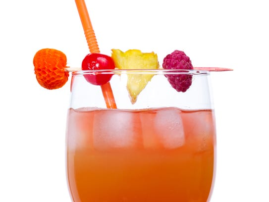 The Rum Swizzle is the national cocktail of Bermuda.