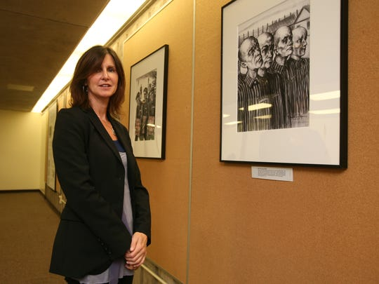 Andrea Winograd, director of the Holocaust Museum and