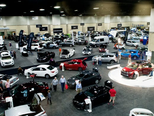 News Sentinel Auto Show At Knoxville Convention Center On Feb - Auto convention