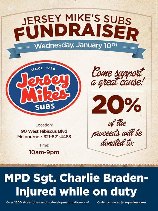 Jersey Mike's fundraiser