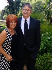 Jim and Deborah Pufnock, owners of A Touch of Italy