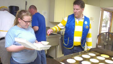 Pancake Day -- a fundraiser for the Kiwanis Club of Pineville -- is set for 6 a.m. to 8 p.m. Tuesday, March 10, at Kees Park Community Center on La. Highway 28 East in Pineville.