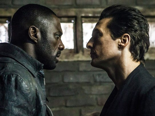 "Idris Elba (left) and Matthew McConaughey star in ""The"