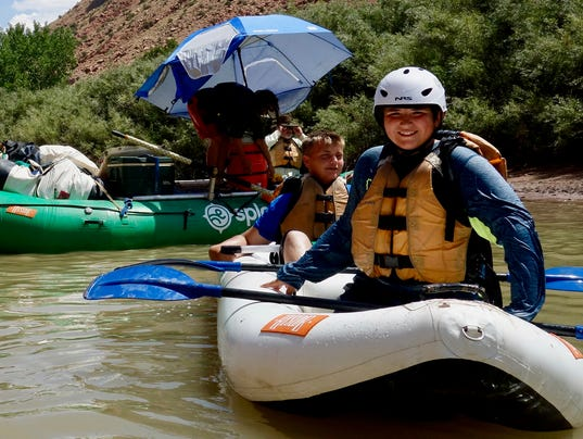 Call of the Colorado River leads toa  family pilgrimage
