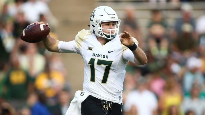 Quarterback Seth Russell and the Baylor Bears rolled past Rice on Friday.